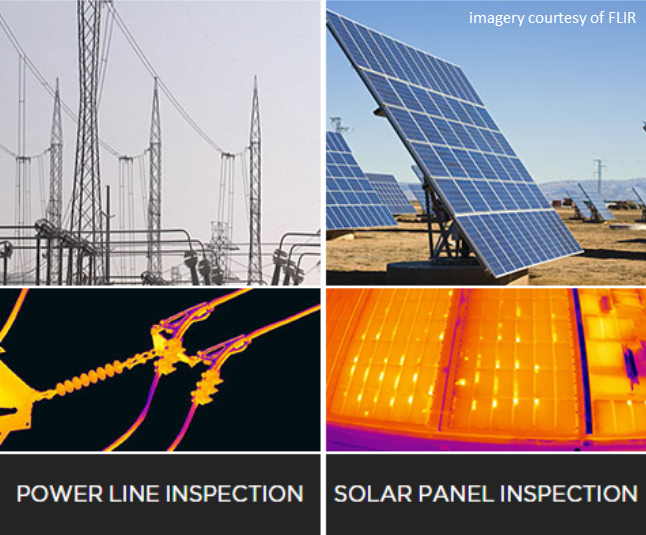 Powerline and Solar FLIR