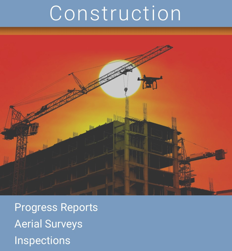 Construction Drone, Construction Progress Report Drone, Construction Aerial Photography Drone, Construction Aerial Inspection Drone
